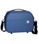 Neceser Movom Dakar ABS adaptable a trolley Azul -35x24x15cm-