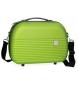 Neceser Movom Dakar ABS adaptable a trolley Pistacho -35x24x15cm-
