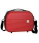 Neceser Movom Dakar ABS adaptable a trolley Rojo -35x24x15cm-