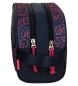 Comprar Movom Sac mobile Paisley double compartiment adaptable au chariot -16x26x12cm-