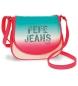 Bandolera con solapa Pepe Jeans Nicole rosa -23x20,5x8,5cm-