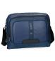 Bandolera para portátil Pepe Jeans Bromley Azul -39x31x11cm-