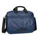 Bandolera para portátil Pepe Jeans Bromley con solapa Azul