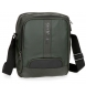 Bandolera Pepe Jeans Bromley Verde grande porta tablet -22x27x8cm-