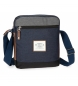 Bandolera Pepe Jeans Roy porta tablet azul -26,5x23x6cm-