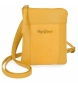 Compar Pepe Jeans Small leather strap Pepe Jeans Double Yellow -13x16,5x1,5cm