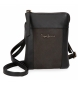 Compar Pepe Jeans Small leather strap Pepe Jeans Double Black -13x16,5x1,5cm