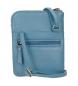 Comprar Pepe Jeans Borsa a tracolla in pelle Pepe Jeans Lica blu -16.5x13x1.5cm-