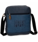 Compar Pepe Jeans Pepe Jeans Max tablet shoulder bag blue -23x27x6cm