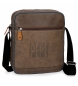 Compar Pepe Jeans Tablet shoulder bag Pepe Jeans Max brown -23x27x6cm