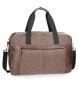 Bolsa de viaje Pepe Jeans Cranford Marrón -50x27x27cm-