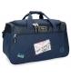 Bolsa de viaje Pepe Jeans Scarf azul -29x52x29cm-