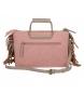 Comprar Pepe Jeans Pepe Jeans Fringe handbag with Nude shoulder strap -25x17cm