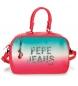 Bolso de viaje Pepe Jeans Nicole rosa -37x25x15cm-