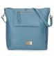 Bolso shopper Pepe Jeans Angelica Azul -34x35x17cm-