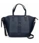 Bolso Shopper Daphne azul -42x31x12cm