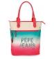 Bolso shopper Pepe Jeans Nicole -30,5x37x13cm-