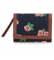 Comprar Pepe Jeans Pepe Jeans Freida leather wallet with flap -9x12x2,5cm