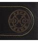 Comprar Pepe Jeans Cartera Pepe Jeans Burned horizontal con cierre de clic Negra -11x8,5x1 cm-