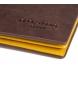Comprar Pepe Jeans Pepe Jeans Carteira de couro vertical colorida com bolsa marrom -8,5x11,5x1cm-