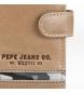 Comprar Pepe Jeans Carteira Pepe Jeans Vertical Delta com fecho por clique Castanho -8,5x10,5x1 cm-