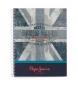 Cuaderno de tapa dura Pepe Jeans Ian A4 -21,5x29cm-