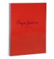 Cuaderno Pepe Jeans Pepe Jeans Rojo -21,5x29cm-