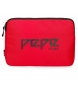 Compar Pepe Jeans Cover for Tablet Pepe Jeans Osset Red -30x22x2cm