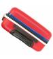 Comprar Pepe Jeans Set of 3 rigid suitcases 55-69-79cm Peje Jeans Edison Red