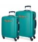 Comprar Pepe Jeans Set of Pepe Jeans Bristol Green rigid luggage 55-77cm