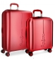 Juego de maletas Pepe Jeans Cambridge Rojo rígidas -40x55x20cm / 48x70x28cm-