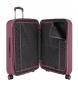 Comprar Pepe Jeans Set de valises Pepe Jeans Jeans Glasgow Bordeaux rigide -40x55x20cm / 48x70x28cm-.
