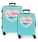 Juego de maletas Pepe Jeans rígidas 38.4L / 81L Cali -55x40x20 / 70x48x26 cm-