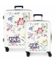 Juego de maletas Pepe Jeans rígidas 38.4L / 81L Maze -55x40x20 / 70x48x26 cm-