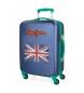Compar Pepe Jeans Valise cabine Pepe Jeans Bristol avec drapeau bleu -38x55x20cm-