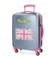 Compar Pepe Jeans Cabin Suitcase Pepe Jeans Bristol with Grey Flag -38x55x20cm-