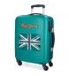 Compar Pepe Jeans Valise cabine Pepe Jeans Bristol avec drapeau vert -38x55x20cm-