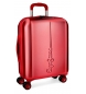 Maleta de cabina Pepe Jeans Cambridge Roja rígida -40x55x20cm-