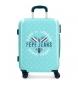 Maleta de cabina Pepe Jeans Emory rígida 37L stars -40x55x20cm-