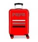 Compar Pepe Jeans Etui cabine Pepe Jeans World rigide 34L rouge -38x55x20cm