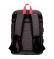 Comprar Pepe Jeans Backpack 44 cm double zipper adaptable to trolley Pepe Jeans Molly grey -30,5x44x15cm