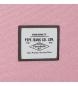 Comprar Pepe Jeans Zaino 44 cm doppia cerniera doppia con trolley Pepe Jeans Molly rosa -30,5x44x15cm