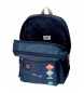 Comprar Pepe Jeans Backpack 44 cm double zipper with trolley Pepe Jeans Paul -30x44x15cm
