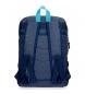 Comprar Pepe Jeans Mochila 44 cm doble cremallera Pepe Jeans Molly azul -30,5x44x15cm-