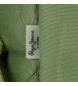 Comprar Pepe Jeans Mochila adaptable a carro Pepe Jeans Cross doble compartimento 44cm Verde Kaki -44x30,5x15cm-