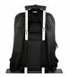 "Comprar Pepe Jeans Mochila adaptable para portátil Pepe Jeans Allblack 15,6"" dos compartimentos - 31x44x15cm-"