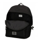 Comprar Pepe Jeans Adaptable Backpack Pepe Jeans Osset black -31x42x17,5cm