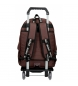 Comprar Pepe Jeans Backpack with Trolley Pepe Jeans Osset brown -31x42x17,5cm