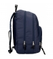 Comprar Pepe Jeans Sac à dos zippé double zip adaptable Pepe Jeans Uma bleu marine -31x44x15cm