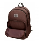 Comprar Pepe Jeans Backpack Double Zipper with Trolley Pepe Jeans Osset brown -31x46x15cm